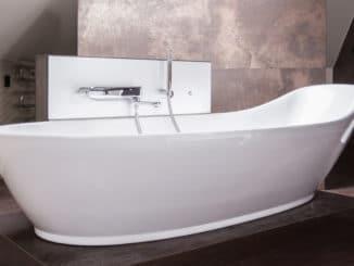 freistehende Badewanne, modern