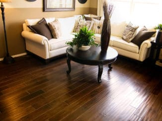 Fußboden aus Echtholz, Hartholzboden
