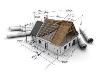 3D Plan eines Hauses