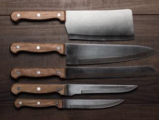 Ein Messer-Set