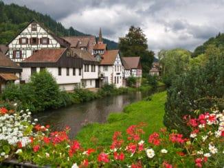 Der Schwarzwald ist sehr romantisch