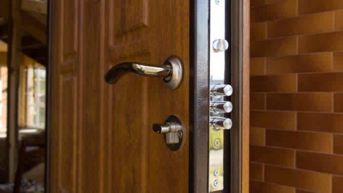 sichere Haustür