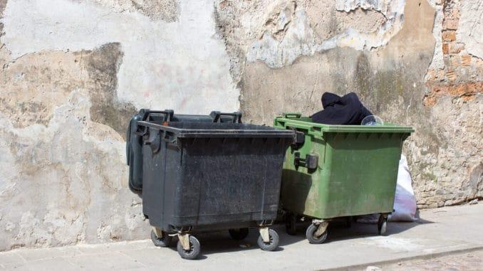 Mülltonnen, Müllcontainer
