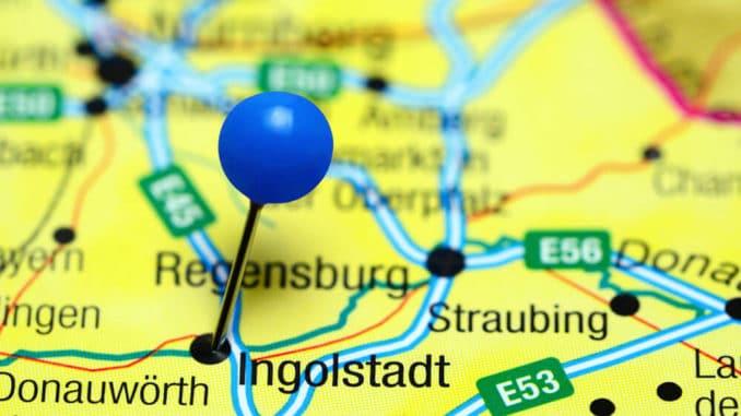 Ingolstadt auf der Landkarte