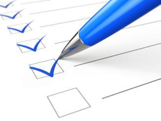 Checkliste für Wasserenthärtungsanlage