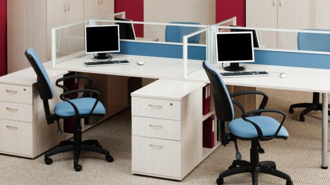 ergonomischer Arbeitsplatz im Büro