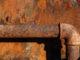 Rostiges Rohr im Keller