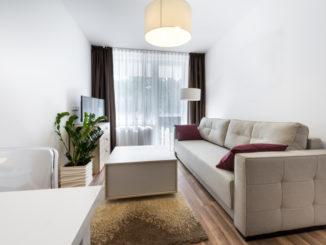 sehr kleines Wohnzimmer