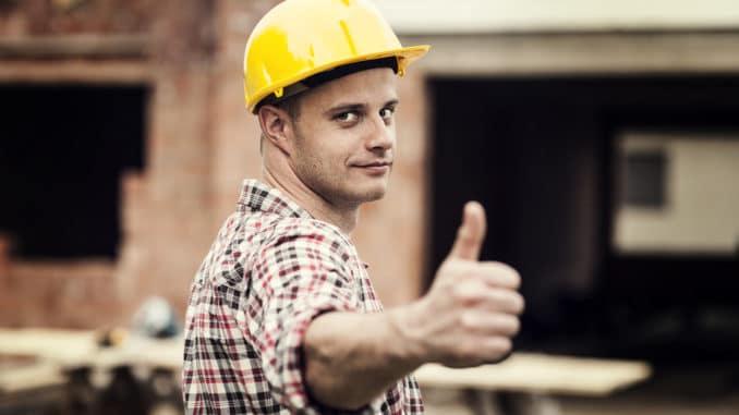 Arbeitssicherheit auf dem Bau ist wichtig