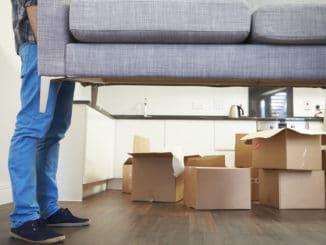 Umzug mit einer Couch