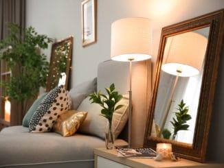 stilvolle Dekoration im Schlafzimmer