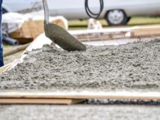 Zement für den Hausbau
